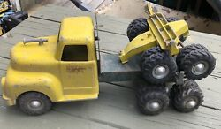 Rare Vintage All American Toy Company Co Salem Oregon Timber Toter Logging Truck
