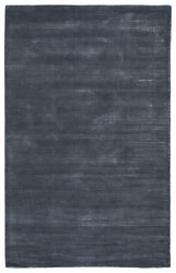 Jaipur Living Basis Handmade Solid Dark Blue Area Rug 9and039x12and039