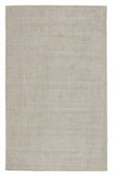 Jaipur Living Basis Handmade Solid Ivory/ Gray Area Rug 12and039x15and039