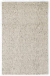 Jaipur Living Oland Handmade Solid White/ Brown Area Rug 9and039x12and039