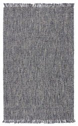 Jaipur Living Caraway Handwoven Solid Blue/ Gray Area Rug 8and039x10and039