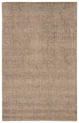 Jaipur Living Oland Handmade Solid Gray/ Tan Area Rug 9and039x12and039
