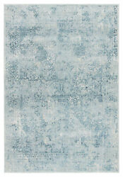 Jaipur Living Yvie Abstract Blue/ Teal Area Rug 12and039x15and039