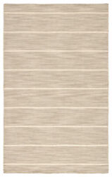 Jaipur Living Cape Cod Handmade Stripe Gray/ White Area Rug 10and039x14and039