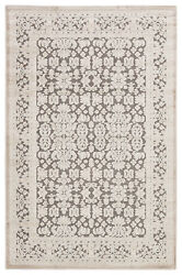 Jaipur Living Regal Damask Gray/ White Area Rug 9and0396x13and0396