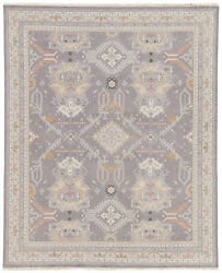 Jaipur Living Wolter Hand-knotted Medallion Gray/ Gold Area Rug 6and039x9and039