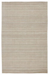 Jaipur Living Gradient Handwoven Solid Gray/ Light Taupe Area Rug 8'x10'