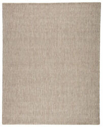 Jaipur Living Jardin Indoor/ Outdoor Solid Gray/ White Area Rug 10and039x14and039