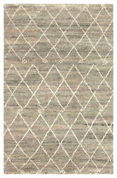 Jaipur Living Batten Hand-knotted Trellis Green/ Ivory Area Rug 8and039x10and039