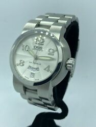 Oris Swiss Automatic Sapphire Tt1 Day And Date 7522 37mm