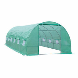 Greenhouse 26'x10'x7' Large Size Walk In Hot Green House Plant Gardening
