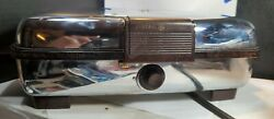Vintage General Electric Ge Waffle Iron Grill Chrome 149g40 B43