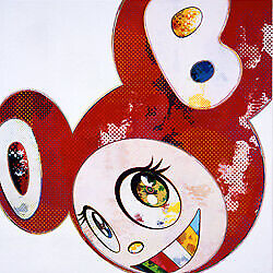 Takashi Murakami Poster And Then 727 Vermilion Edition 300 Signed.