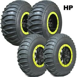 32 System3 Ss360 Hp Sand Tires 15 System3 Sb4 Wheels Lime Squeeze Maverick X3