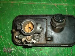 Briggs And Stratton 3hp Horizontal Gas Tank And Carb And Gas Cap Lawn Mower Part