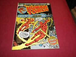 Ba1 Human Torch 1 Marvel 1974 Bronze Age 7.5/vf- Comic See Store