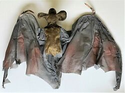 Vintage Large And039vampireand039 Bat Prop From Old Williamsport Pa Haunted Mansion
