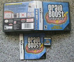 Brain Boost Gamma Wave Nintendo Ds Complete Tested