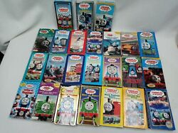 Thomas The Tank Engine And Friends Huge Lot Of 25 Vhs Tapes Vintage Very Clean