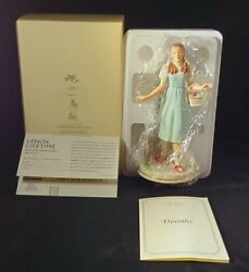 Nib Dorothy And Toto Retired The Wizard Of Oz Collection By Lenox Mint