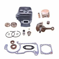 Cylinder Piston For Stihl Ms260 026 Pro Chainsaw Top End Kit 44.7mm Big Bore