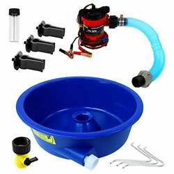 Blue Bowl Concentrator Kit With Pump, Leg Levelers, Vial - Gold Mining Equipment