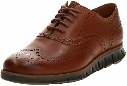 Mens Cole Haan Zerogrand Wing Ox - British Tan/java Leather Size 10.5m [c29411]