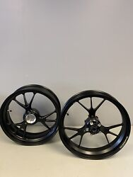 2018-2021 Ducati V4 Front And Back Wheel Aluminum Forged Oem