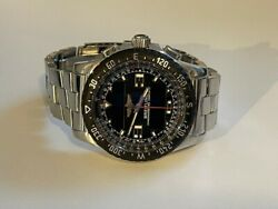 Breitling Airwolf Raven Stainless Steel Black Dial 44mm A78364 2010 Box And Papers