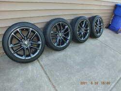 20 Dodge Charger Wheels And Tire Package From 2021 Charger Sxt Plus Awd Like New