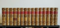The Works Of Charles Sumner Lee And Shepard Subscriberand039s Copy 15 Vol Set Signed
