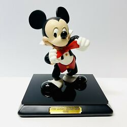Wdcc The Mickey Mouse Club 1955 Artist Signed Mickey Mouse Figure