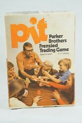 Pit Parker Brothers Frenzied Trading Card Vtg Game Bell 661 70s 1973 Complete