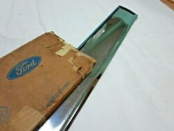 Nos 1980 - 1989 Lincoln Mark Vi 6 And Town Car Front Door Panel Trim Molding Oem