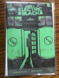 ELECTRIC BLACK #1 Second 2nd Printing Schmalke Woodall SCOUT 2021