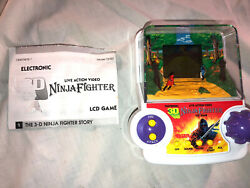 3d Ninja Fighter Lcd Game Tested And Works