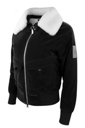 Pxg Womenand039s Winter Ready Wool Bomber Jacket