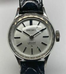 Vintage Seiko Ladies Special 23 Jewels 1140-0060 Womenand039s Watch Used Authentic