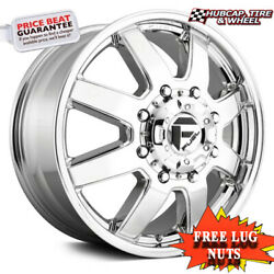 Fuel Off-road D536 Size 22x12 8x170 Offset -44mm Chrome Plated Set Of 4
