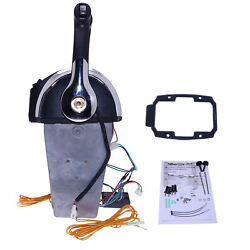 Remote Control 45000 Dual Twin Console Mount For Mercury 883711a02 Outboard 40hp