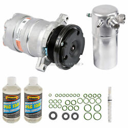 For 1996 Chevy And Gmc G10 G20 G30 Van Oem Ac Compressor W/ A/c Repair Kit