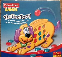 2000 Fisher Price Tic Tac Tony Game Toddler Preschool Tic Tac Toe New Unopened
