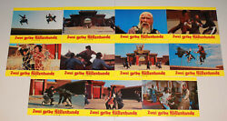 Two Assassins Of The Darkness German Lobby Card Set 11 Martial Arts