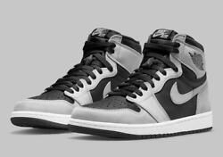 Nike Air Jordan 1 Retro High Og Shoes Shadow 2.0 555088-035 Menand039s Or Gs New