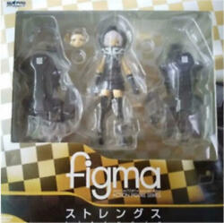 Max Factory Figma Sp-018 Black Rock Shooter Strength Figure From Japan