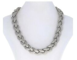 John Hardy 925 Braided Classic Chain Sterling Silver Necklace