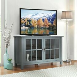 Universal Oxford Square Tv Stand For Tvs Up To 55 Blue Entertainment Center