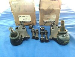 1959 Oldsmobile Lower Ball Joints Pair Left Right Trw 10104n, 10103n Nors Usa