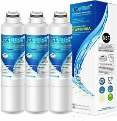 Icepure Rwf0700a 3 Pack Water Filter For Samsung, Kenmore Da2900020b [3 Filters]