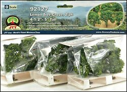 Jtt Scenery Products 92127 Lemon Grove Trees 3-packages Of 2
